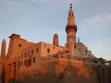 Mosque in Luxor Temple