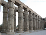 Hypostyle Hall of Papyrus Columns at the Luxor Temple