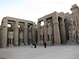 Courtyard of Ramses II at Luxor Temple