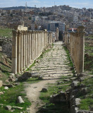 Jerash then and now