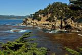 California coast view along the Cypress Grove Trail