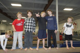 Callahan's 8th Birthday at the Academy for Artistic Gymnastics 1.14.2012