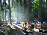 Camping Bass Lake 2011