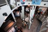 Interior del Centro de Visitantes
