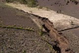 Debido al Terreno Arenoso, la Lluvia lo Erosiona Facilmente