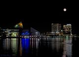 Aquarium Skyline Moon