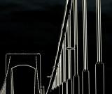 Black and White Bridge Lines