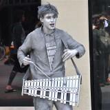 Silver Musician in Santa Monica