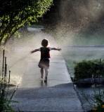 Remember Running Through the Sprinkler on a Hot Summer Night?