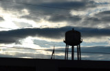 Lines and a Water Tower