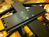 Dovetail plate attached to the central brace