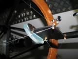 Detail of wire spider