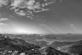 View from Jiufen (B&W)