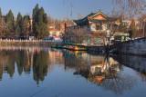 Morning at the Cui Hu (Green Lake) Park  »A´ò¤½¶é
