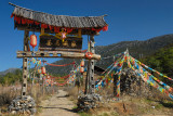 Pathway To The Tibetian Tribe Home