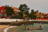 Waterfront of Isle Gorée