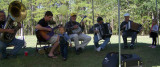 Tuba/Accordion/Banjo/Guitar Fest at Pop's 80th Birthday Party