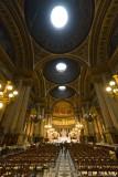 Inside Ste Marie Madeleine