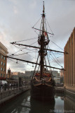 Golden Hind in Twilight