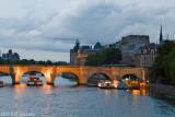 Siene at Night, Paris.