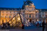 Louvre, Paris, Night