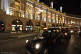Cab on Rigent Street, London