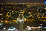 Paris at Nigh from Eifel Tower