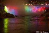 Canadian Falls Illumination