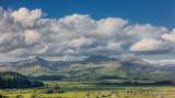 Moelwyn range and Cnicht.