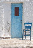 Blue door - Ftelia bay