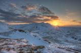 Moel Farlwyd sunrise.