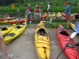 Assignment of specific kayaks