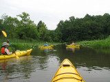 Floating down creek to Patuxent