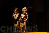 Orang Ulu warriors