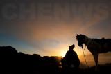 Sunrise at the Tengger National Park