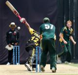 Tom Kimber (wicket keeper) eyes on Ahamd Faiz