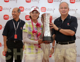 Na Yeon Choi (S. Korea) wins the LPGA Malaysia Golf Tournament 2011.