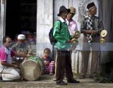 Traditional Minangkabau musicians