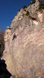 CC on La Dalle a Claude (4+), St Jeannet