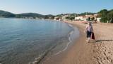 SD Agay beach, sunny