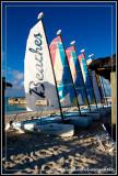 Beaches Sailboats