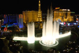 ...last but not least, the fabulous fountains at the Bellagio Hotel