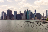Manhattan from the Brooklyn Piers
