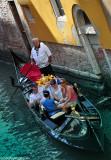 Walking down in Venice