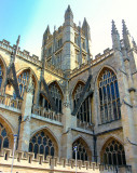 Bath Cathedral.  Somerset, UK
