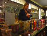 Harrods store.  Luxury beauty and fragrance, fashion accessories, gifts