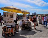 Venice: Street Art in backlight