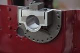 left crank shaft support casting test fitted.
