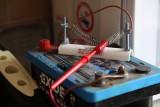 Current limiting resistor. Its HOT