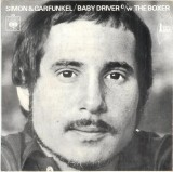 'The Boxer / Baby Driver' ~ Simon & Garfunkel (7'' Single - Reverse)